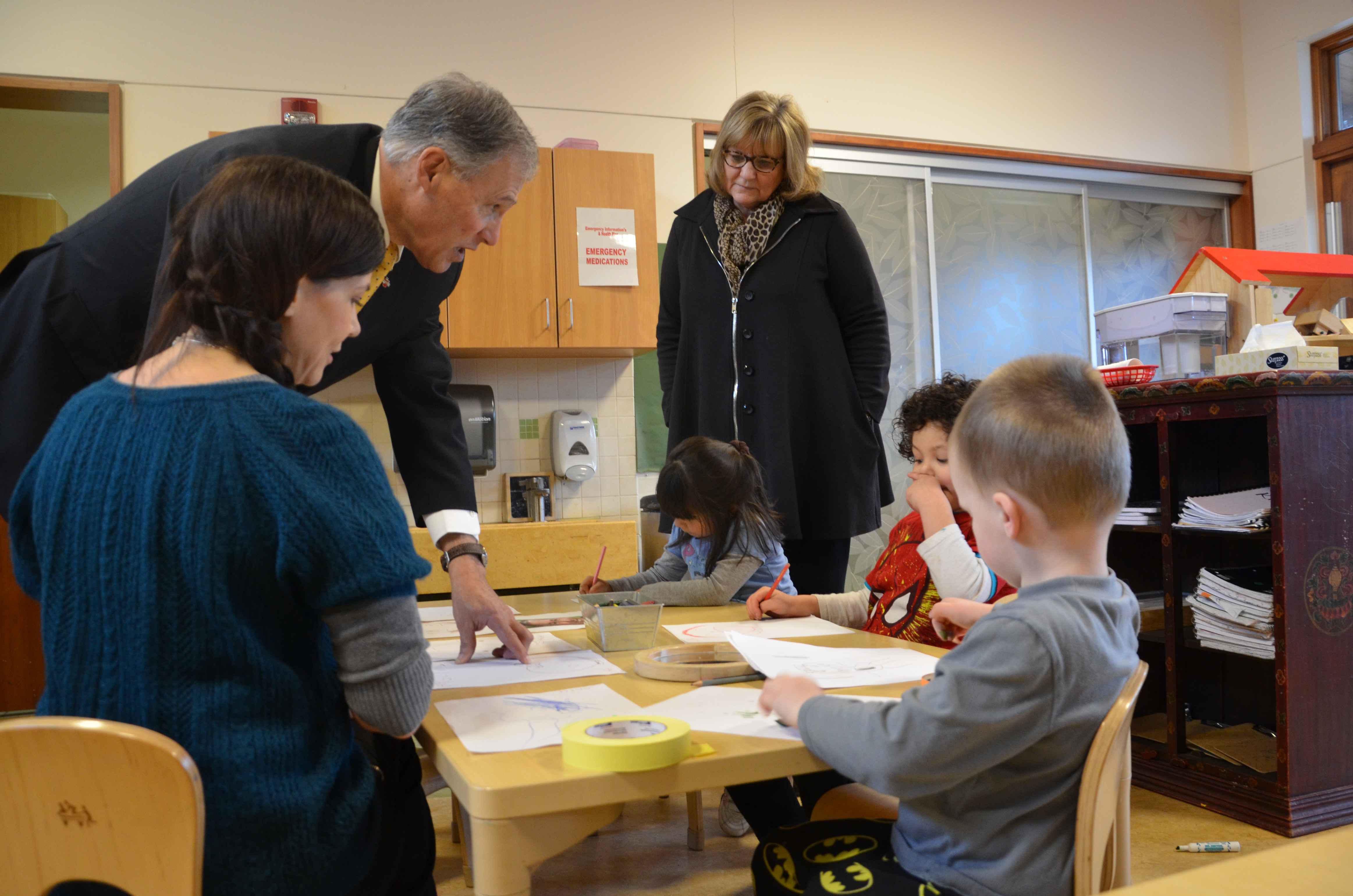 Seattle-Governor of Washington visits Educare Seattle