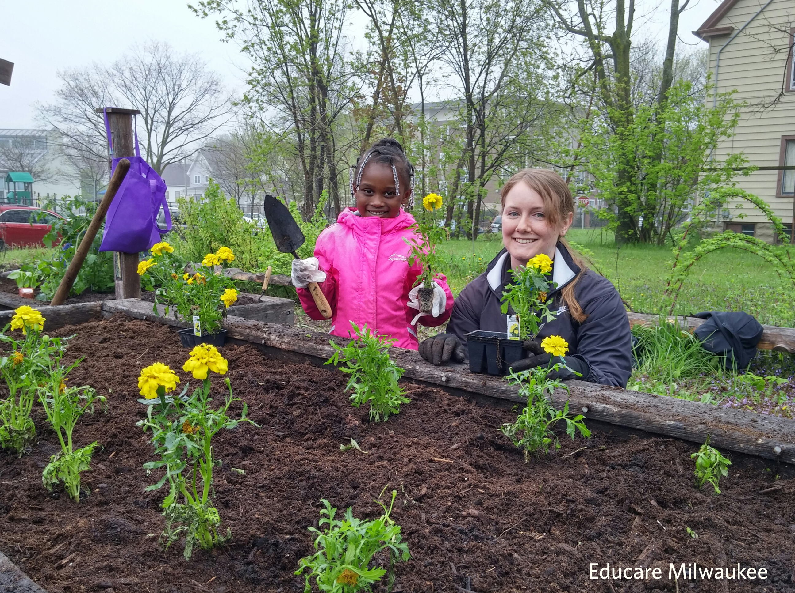 Educare gardens plant a seed and watch children grow for Planting a garden