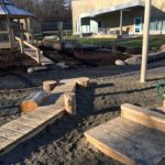 outdoor early learning space