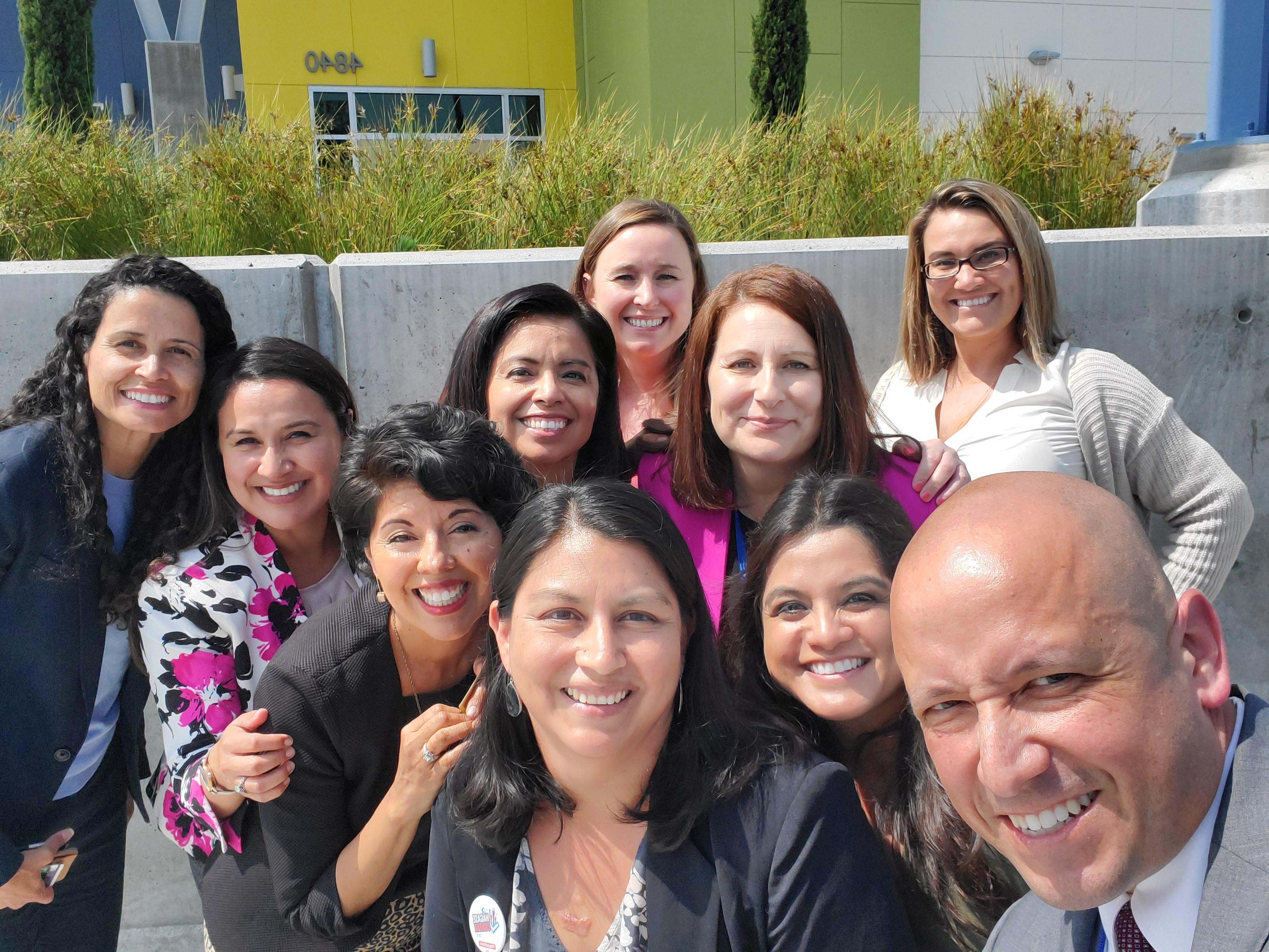 GP visit to Educare & Long Beach 1